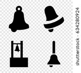 jingle icons set. set of 4... | Shutterstock .eps vector #634280924