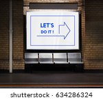 let's do it inspiration concept | Shutterstock . vector #634286324