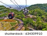 kobe  japan   april 2016 ... | Shutterstock . vector #634309910