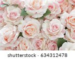 Stock photo pink rose for backgrounds 634312478