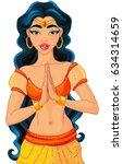 jasmine is arabian nights... | Shutterstock .eps vector #634314659