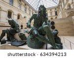 paris  france  march 08  2017   ... | Shutterstock . vector #634394213