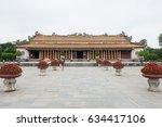 hue  vietnam   mar 14 2017  hue ... | Shutterstock . vector #634417106