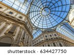 detail of the galleria vittorio ... | Shutterstock . vector #634427750