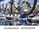 Detail Of The Bicycle On The...