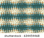 abstract grunge vector... | Shutterstock .eps vector #634454468