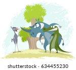 vector illustration of a... | Shutterstock .eps vector #634455230