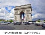 paris  france circa may 2015....   Shutterstock . vector #634494413