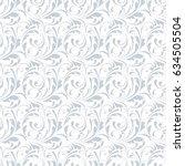 floral seamless pattern. sample ... | Shutterstock .eps vector #634505504