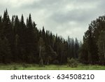 the gloomy atmosphere of the... | Shutterstock . vector #634508210