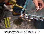 air conditioner repair select... | Shutterstock . vector #634508510