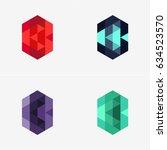 modern abstract design vector... | Shutterstock .eps vector #634523570