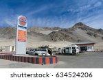 ladakh  leh  india   may 6 ... | Shutterstock . vector #634524206