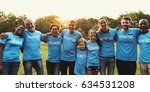 group of diverse people as...   Shutterstock . vector #634531208