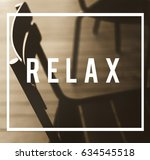 relaxation resting serenity... | Shutterstock . vector #634545518