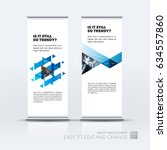 abstract business vector set of ... | Shutterstock .eps vector #634557860