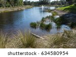 Golf Course Community Pond In...