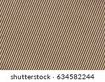 recycled brown corrugated... | Shutterstock . vector #634582244