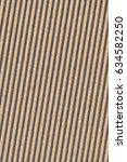 recycled brown corrugated... | Shutterstock . vector #634582250
