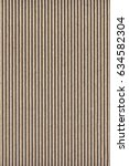 recycled brown corrugated... | Shutterstock . vector #634582304