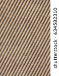 recycled brown corrugated... | Shutterstock . vector #634582310