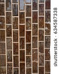 abstract background texture... | Shutterstock . vector #634587338