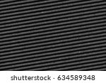 recycled black corrugated... | Shutterstock . vector #634589348