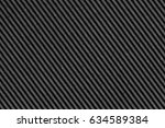 recycled black corrugated... | Shutterstock . vector #634589384
