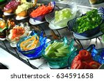 salad bar | Shutterstock . vector #634591658