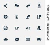 vector illustration set of...   Shutterstock .eps vector #634591838