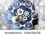 industry 4.0   innovation it... | Shutterstock . vector #634636418