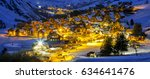 view of saint jean d'arves by... | Shutterstock . vector #634641476