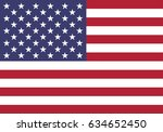 eps 10 vector united states of... | Shutterstock .eps vector #634652450