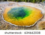 Colorful Hot Water Pool In The...