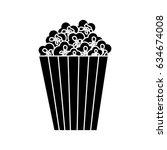 cinema bucket icon | Shutterstock .eps vector #634674008