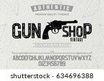 font.alphabet.script.typeface... | Shutterstock .eps vector #634696388