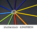 Collection Of Colored Pencils...