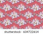 raster illustration. spring... | Shutterstock . vector #634722614