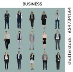 business people lifestyle... | Shutterstock . vector #634734164