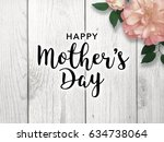 mother's day graphic | Shutterstock . vector #634738064