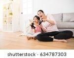 good relationship cute little...   Shutterstock . vector #634787303