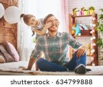 happy father's day  dad and his ... | Shutterstock . vector #634799888