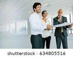 real estate broker and business ... | Shutterstock . vector #634805516