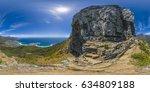 full 360 virtual reality... | Shutterstock . vector #634809188