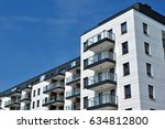 modern  luxury apartment...   Shutterstock . vector #634812800