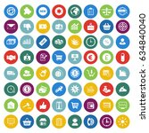 marketing icons set   Shutterstock .eps vector #634840040