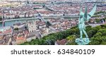 view of lyon from the top of... | Shutterstock . vector #634840109