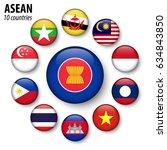 asean   association of...   Shutterstock .eps vector #634843850