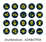 ecology icons | Shutterstock .eps vector #634867904