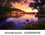 heidelberg  germany  dreamy... | Shutterstock . vector #634868696